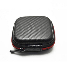 Portable Cable Earphone Headphone Bag Carry Storage Box Earbud Hard Case Convenient Travel(China (Mainland))