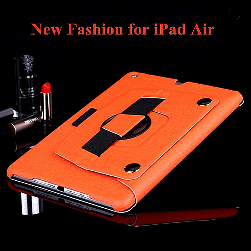 2014 New 360 Degrees Rotating Smart Cover for iPad Air Case Ultrathin Leather Stand Case Cover for iPad Air 5 Free Shipping<br><br>Aliexpress