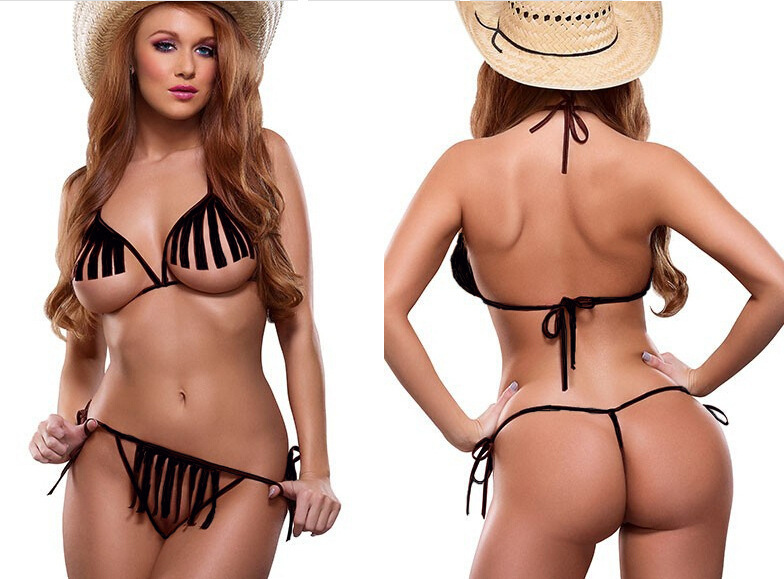 Sexy cowgirl lingerie for women