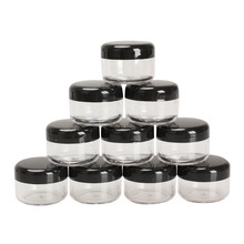 15g/ml Cosmetic Empty Jar Pot Eyeshadow Makeup Face Cream Container Acrylic Refillable Bottles - bestnewplan store