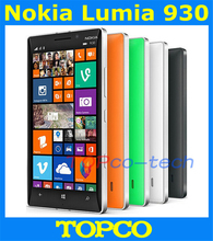 Original Nokia Lumia 930 Unlocked Windows Mobile Phone 8.1 GSM 3G&4G 5.0'' 20MP WIFI GPS 32GB internal Storage Dropshipping(China (Mainland))