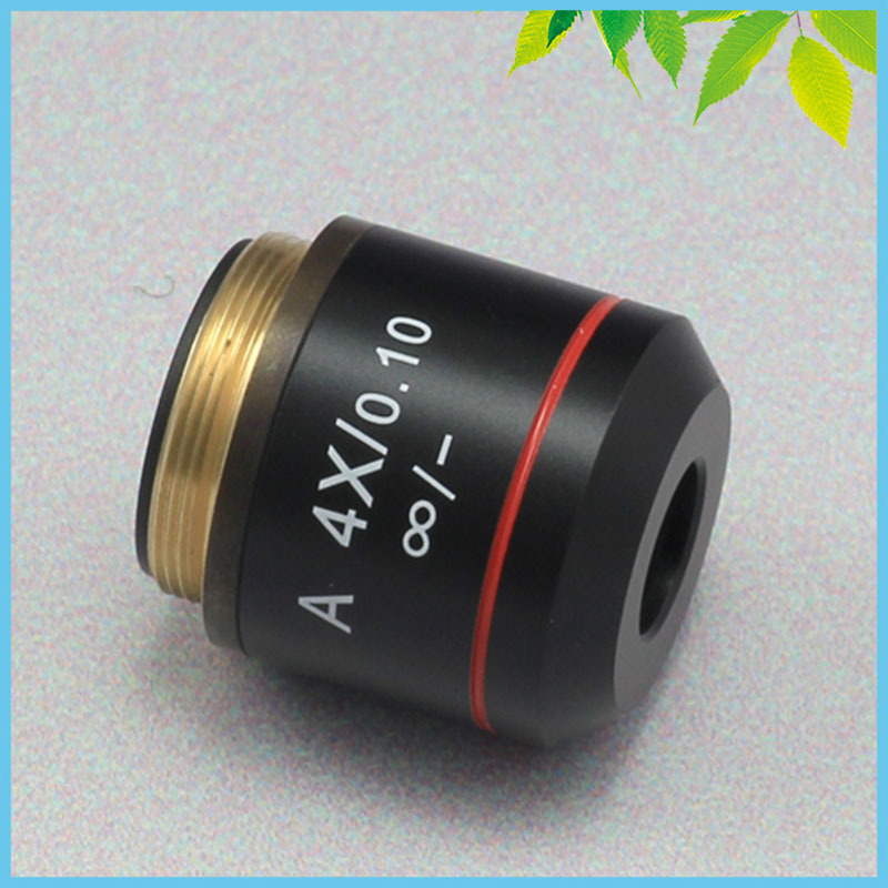 4X Achromatic Infinity Objective Lens for Biological Microscope Can be Used on Zeiss Olympus Infinity Microscope<br><br>Aliexpress
