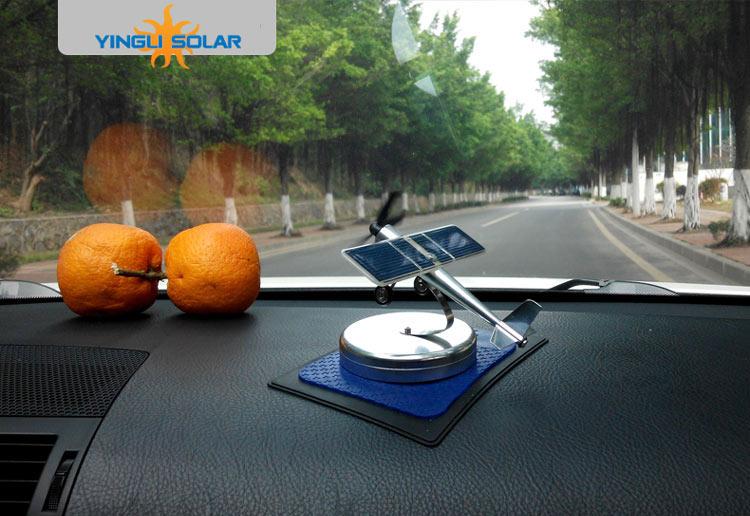 Car ornaments Solar airplane model aircraft interior model car gift ideas(China (Mainland))