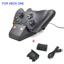 Fantastic Fashion Controller Charging Station For Xbox ONE Dock Charger With Two Piece 1200 mah Battery(China (Mainland))