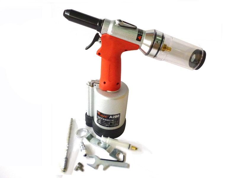 High Quality A280 Pneumatic Riveter Gun Air Hydraulic Rivets Tool 4.0-6.4mm