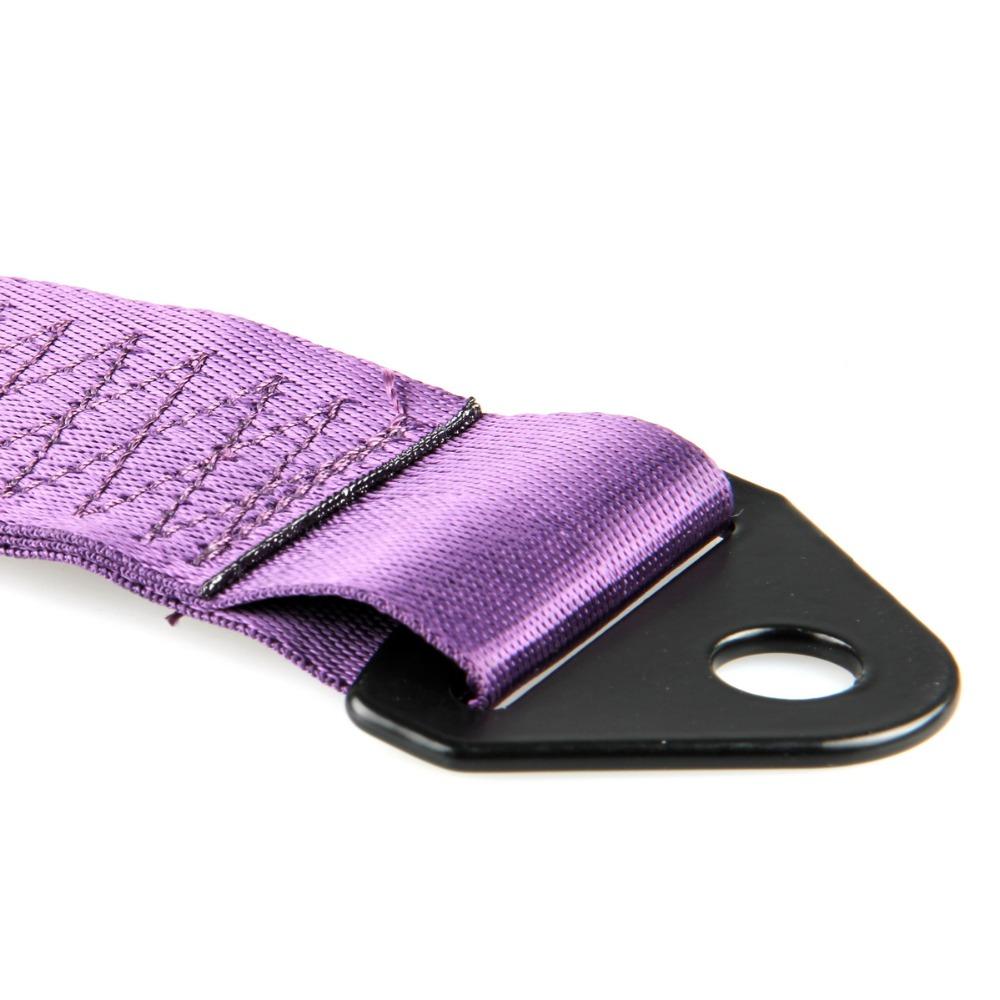 Новый универсальный гонки автоэвакуация веревки буксировочный трос крюк ( по умолчанию : фиолетовый цвет ) черный / красный / синий / фиолетовый / оранжевый / зеленый