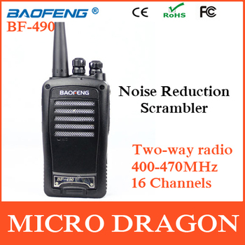 Original BaoFeng BF-490 BF 490 Professional Transceiver FM Ham Radio Walkie Talkie Transmitter cb Radio Station