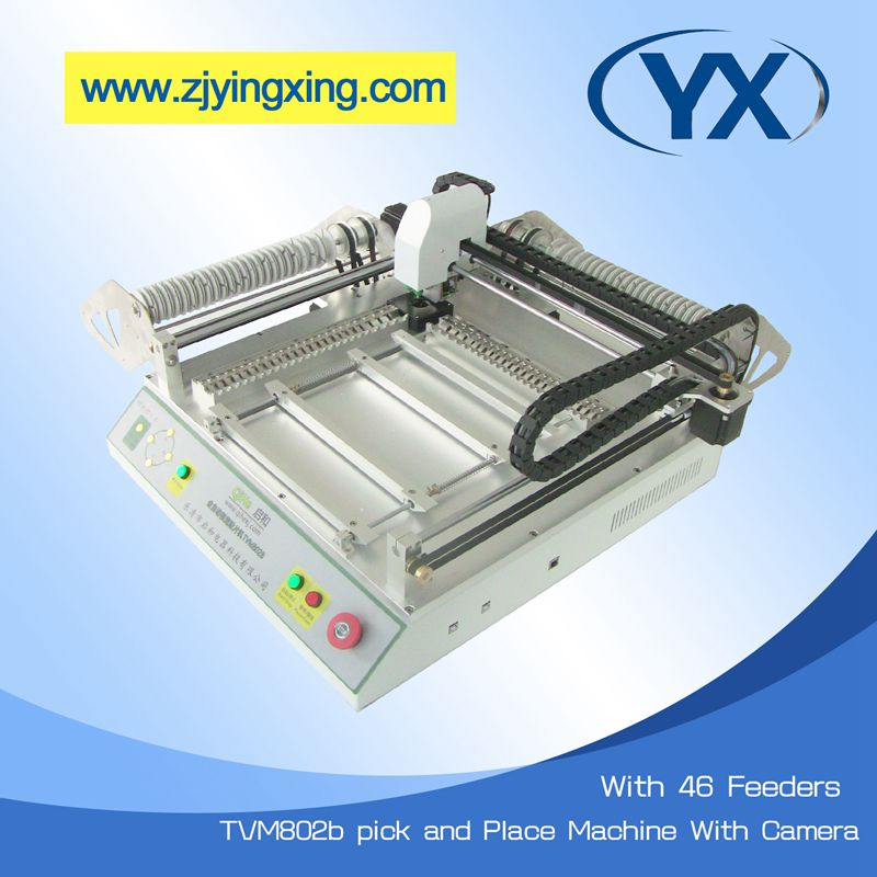 Led Flexible Light Making Robot From China Small SMT Machines Pick and Place Machine TVM802B Supplier(China (Mainland))