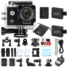 Wimius Full HD 4K Action Camera 2.0 LCD Wifi Sports Camera 1080P Helmet Cam 40M Waterproof camara Deportiva For Go Pro SJ style