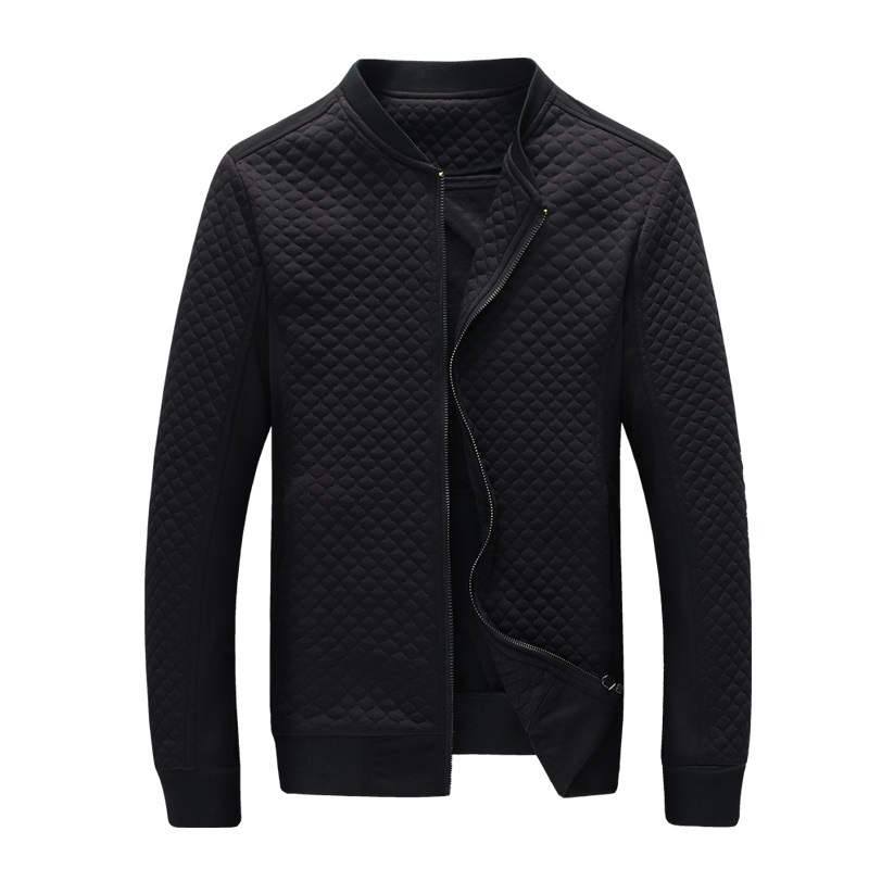 Hot Sale Slim Thin Men Jacket 2015 spring Autumn winter Fashion Clothes of high quality cotton fabric Jackets ZIP closure