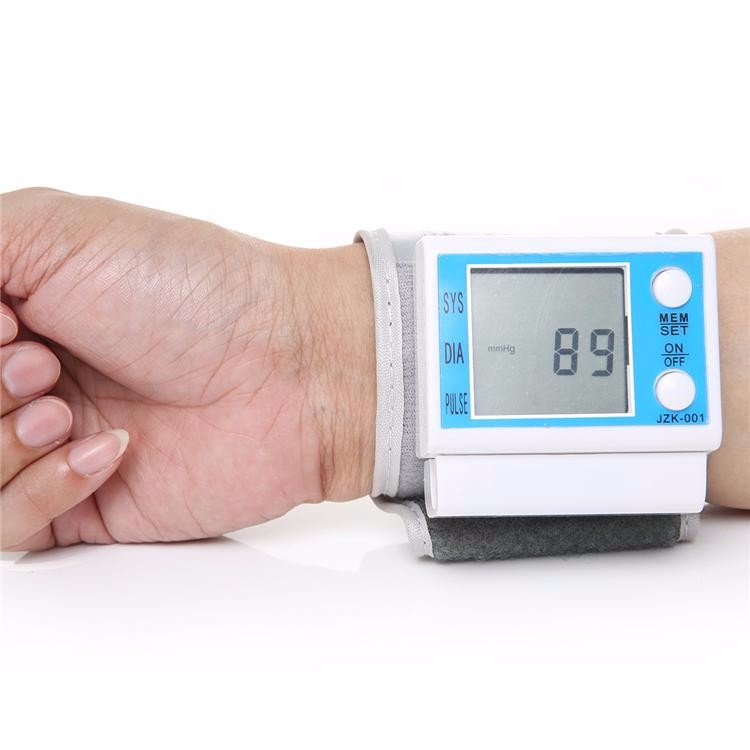 Portable LCD Tonometer Blood Pressure Monitor Digital Pulse meter medidor pressao arterial Health Care JZK-001 cheap