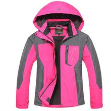 2016 hot sale spring autumn hiking hunting coat women's winter Outdoor sport coat jacket Waterproof ladies sport jacket