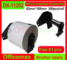 8x Rolls Brother Compatible Labels DK-11202, 62 x 100mm, 300 labels per roll,