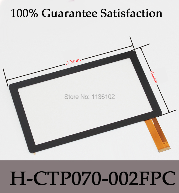 7 Inch Capacitive Touch Screen PANEL Digitizer Glass Replacement for h-ctp070-002fpc Tablet PC pad A13 Free Shipping 10pcs/lot<br><br>Aliexpress
