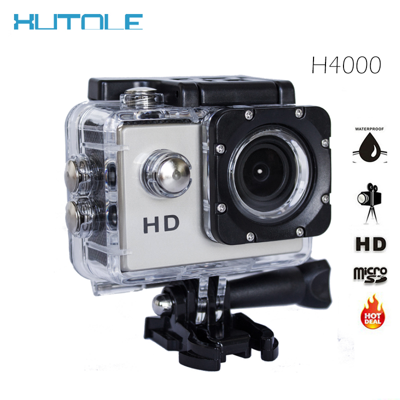 Action Digital Camera Camcorders 2.0 inch Waterproof Action Cam 720P HD Waterproof Helmet Sports Mini Camera Diving 30M Sport DV(China (Mainland))