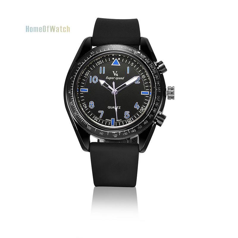 Hot Simple Fashion Watches Men&Women Quartz Watches Live Sports Waterproof Rubber Strap Wristwatch(NBW0QU8081-BU3)(China (Mainland))