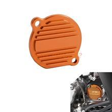 Orange CNC Billet Factory Oil Filter Cover KTM SX EXC XC-F/XCF-W 250 400 450 520 525 540 950 990 - Cnc Motocross Graphics Parts store