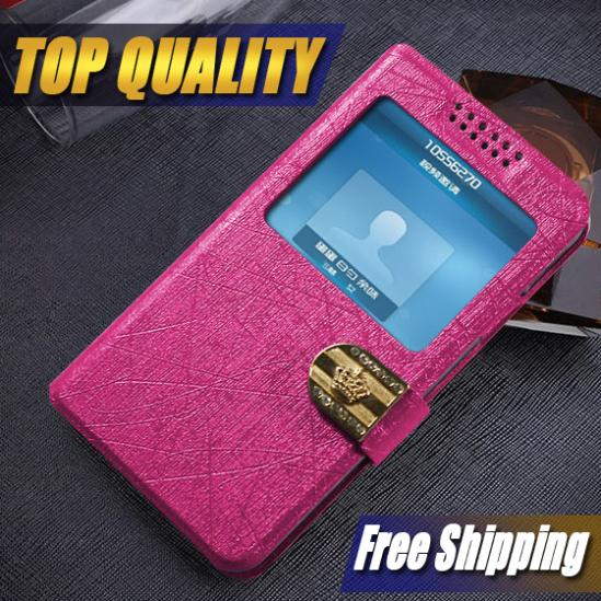 New For LG Google Nexus 4 E960 Case Flip Luxury Leather 7 Colors cell phone cases covers to Nexus 4 E960 with view windows(China (Mainland))