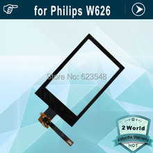 10pcs Original touch screen touch display panel digitizer replacement for Philips W626