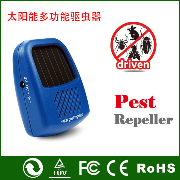 Portable Outdoor Multifunctional Solar Repellents, Mouse Drive, Ultrasonic Outdoor Mosquito Repellent, Snakes Pest Control(China (Mainland))