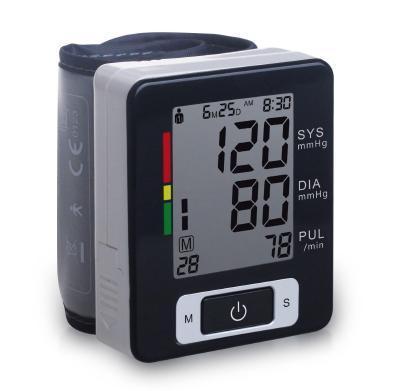 2016HOT Best quality wrist digital blood pressure monitor portable tonometer LCD display sphygmomanometer health diagnostic-tool(China (Mainland))