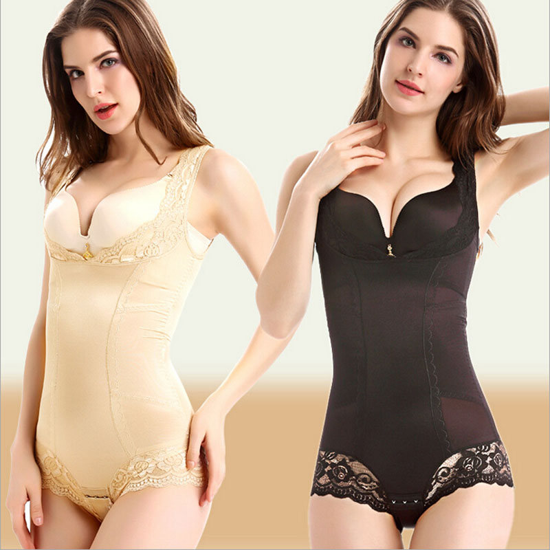 High Quality Thin Non-Trace Lift Hips Closed Abdominal Ice Silk Waist Corset Body Shaper Underwear Ladies Slim Shape Underwear(China (Mainland))