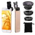 3in1 Fish Eye Wide Angle Macro Lens Fisheye Clip For iPhone 4 4S 5 5S 6