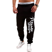 2015 New Men Pants Sports Running Gym Sweatpants Soccer Printing Casual Trouser Jogging Bodybuilding Fitness Sweat Pants(China (Mainland))