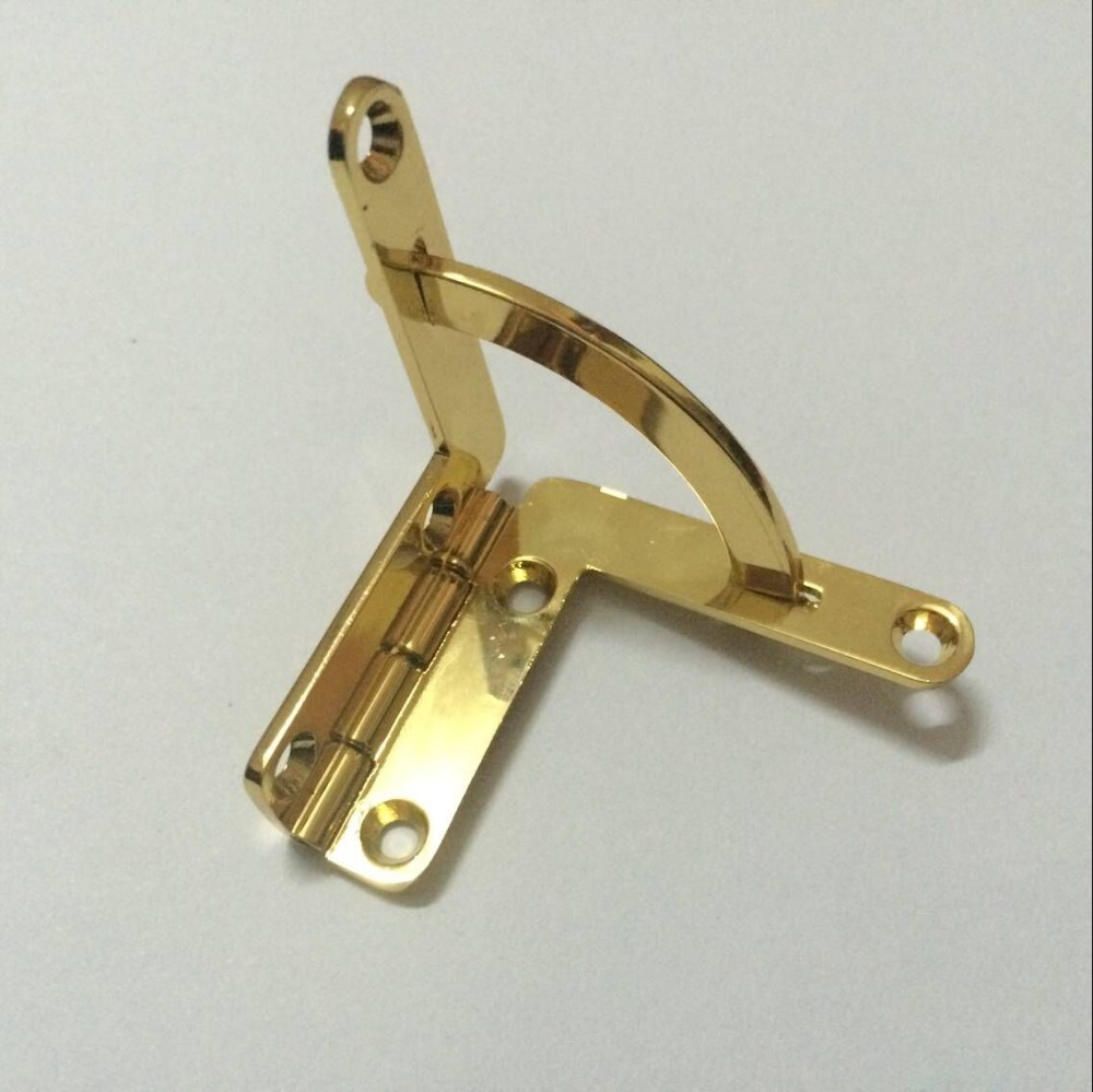 Small Quadrant Side Rail Hinges Set for humidor boxes/ cigar Case -free shipping(China (Mainland))