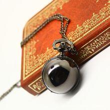 Hot retro ball gun shade alloy creative personality fashion necklace quartz pocket watch XH116
