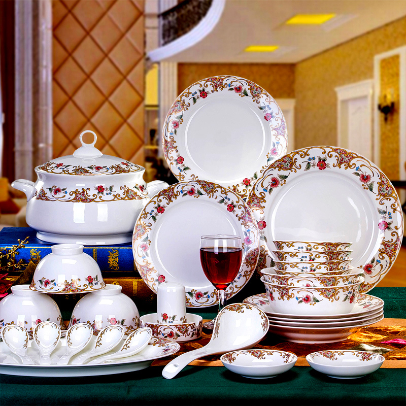 Shop popular china crockery from china aliexpress for Bride kitchen queen set