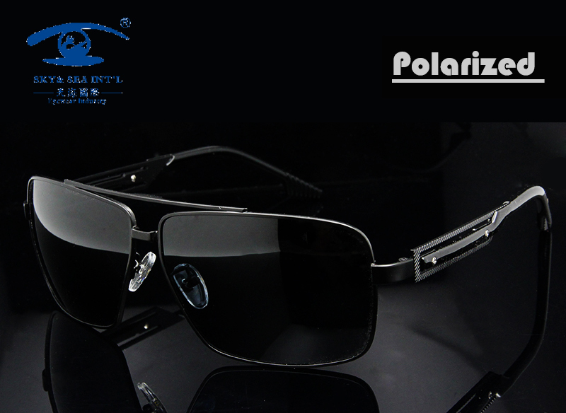 New Summer Style High Quality Stainless Steel Sunglasses Polarized Sun Glasses Men Outdoors Sports Man Vintage Oversized Oculos(China (Mainland))