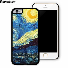 3D Patterns Van Gogh Starry Night Phone Case Cover meizu MX4 MX6 pro M1 M2 M3 note samsung J1 J2 J3 J5 J7 phone shell - Fuleadture Official Store store