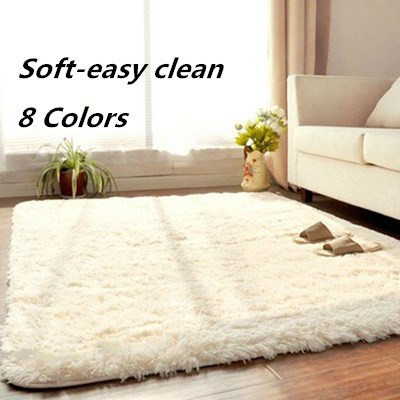 100 200cm super soft rug living room custom made 8 colors japanese