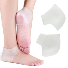Delicate 1Pair Silicone Moisturizing Gel Heel Socks Like Cracked Foot Skin Care Protector Wholsales