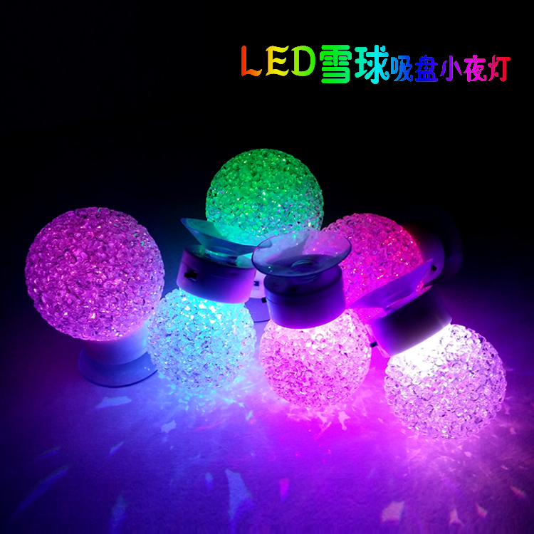 Hot selling led gudgeons small night light cupsful lamp bed lighting wall lamp christmas ...