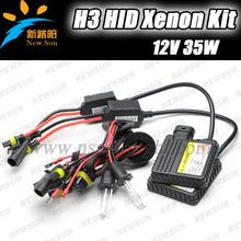 1 Pair HID Xenon 35W H3 12V AC HID Automotive Headlight Replacement Bulbs Single Beam Lamp 6000K 8000K xenon hid light