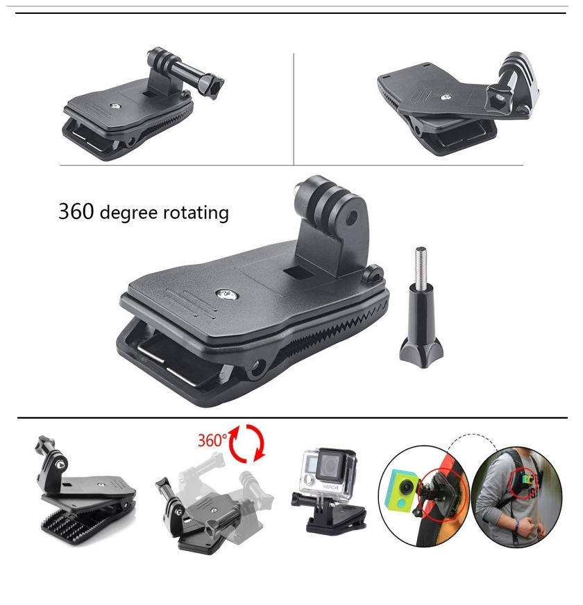 Gopro Accessories Floating Bobber Tripod stick Monopod Hand Head Chest Strap Adapter Set For Go pro Hero 4 3+ 2 xiaomi yi GS08