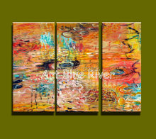 Buy 3 piece Muti panel abstract modern canvas wall art decorative colorful picture oil painting canvas home decoration living room for $54.40 in AliExpress store