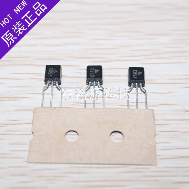 N-channel MOSFET 2SK583 TO-92 new authentic spot-10pcs/lot(China (Mainland))