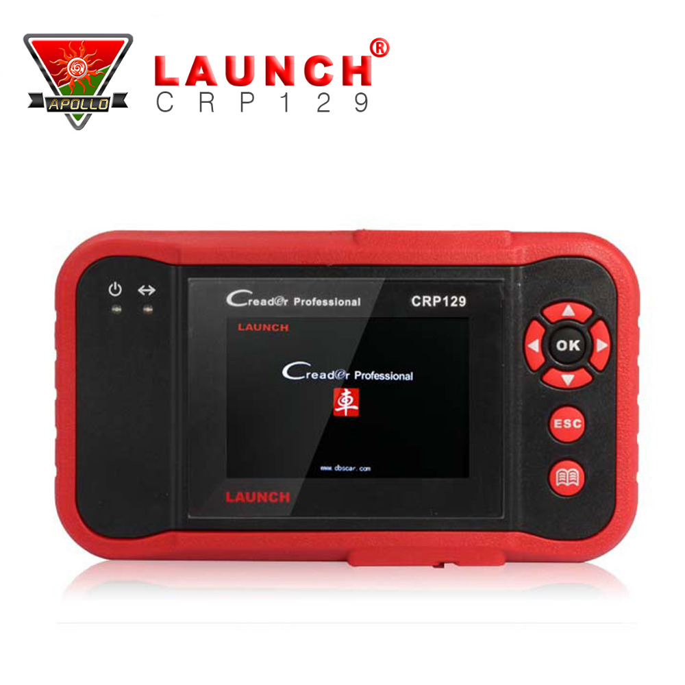 [Launch Distributor] Launch X431 CRP129 ENG/AT/ABS/SRS EPB SAS Oil Service Light reset Code Reader(China (Mainland))