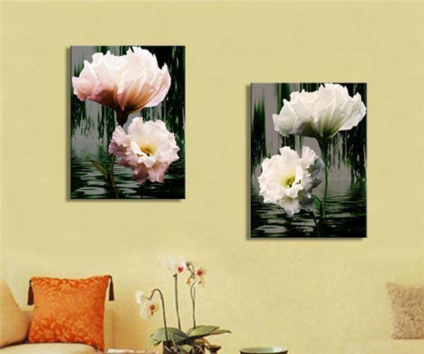 Framed art home wall 2 panel modern painting decorative for Framed artwork for living room