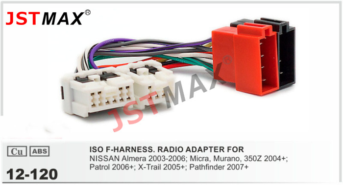 popular nissan murano radio wiring harness buy cheap nissan murano jstmax iso cable car radio stereo adapter for nissan almera micra murano patrol
