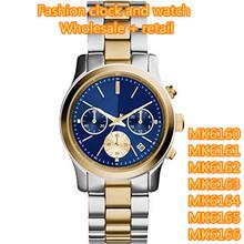 Moda relojes MK6160 MK6161 MK6162 MK6163 MK6164 MK6165 MK6166 + caja original + wholesale y retail + free