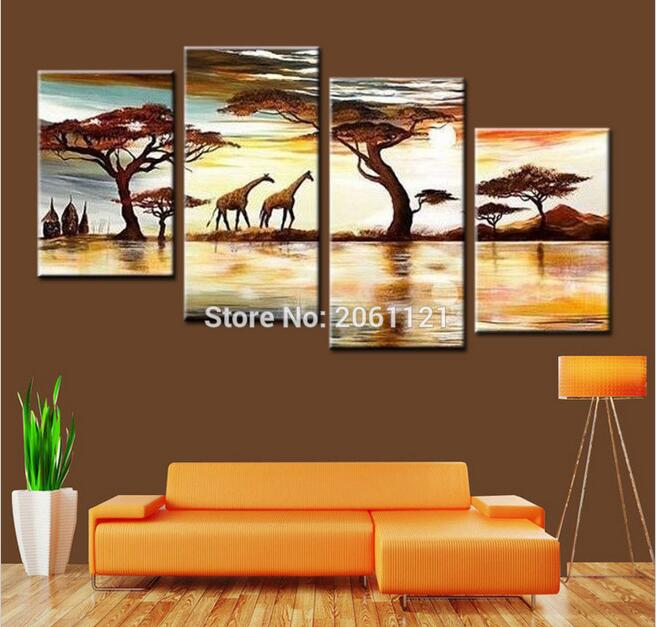 African Artwork Paintings Promotion Shop for Promotional