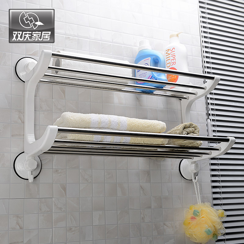 Stainless steel towel rack bathroom towel rack bathroom for Rack for bathroom accessories