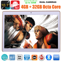2016 New 10 inch Octa Core 3G Tablet 4GB RAM 32GB ROM 1280*800 Dual Cameras Android 5.1 Tablet 10.1 inch DHL Free Shipping(China (Mainland))