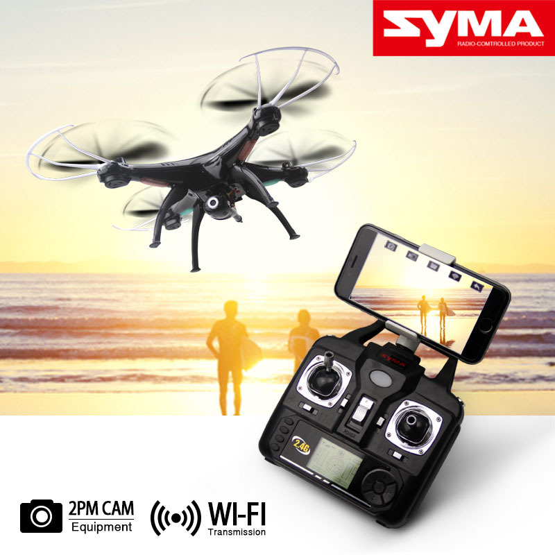 Original SYMA X5SW WIFI RC Drone fpv Quadcopter with HD Camera 2 4G 6 Axis Real