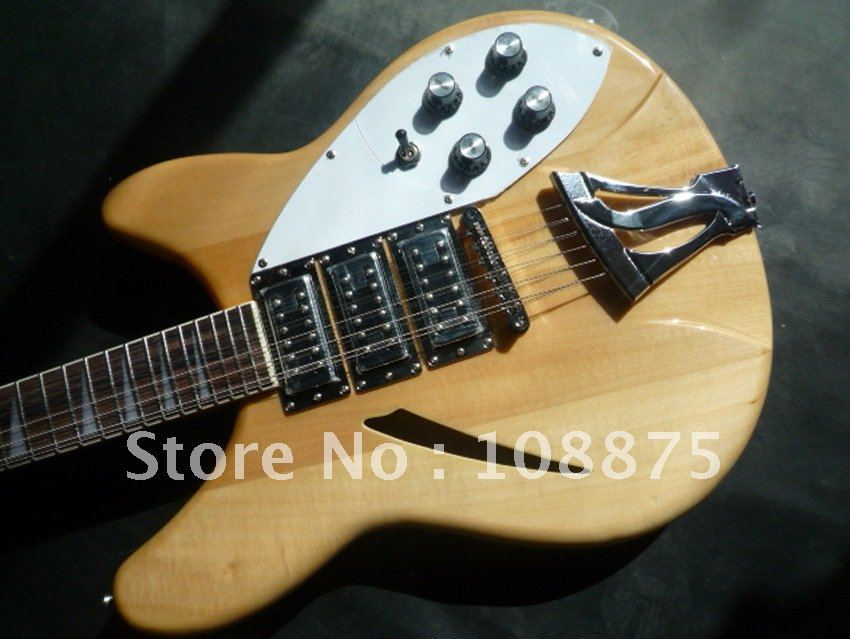 Wholesale Electric guitar 3 PICK UP 360 Shipping100% Excellent Quality(China (Mainland))