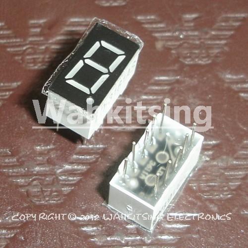 10 PCS LD-3161AS 0.36 inch 1 Digit DIP-10 7 Segment Red Light LED Numeric Digital Display,Common Cathode(China (Mainland))